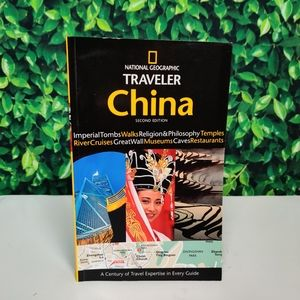 National Geographic Traveler China Guide Book